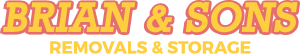 Brian and Sons Removals and Storage Logo