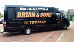 One of the Vans at Brian and Sons