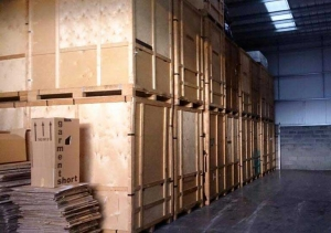 Containerised Storage at Brian and Sons Removals and Storage
