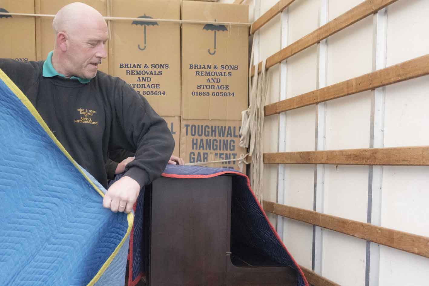 Reliable Removals Service in Northumberland