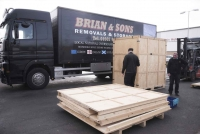 Packing for Removals at Brian and Sons